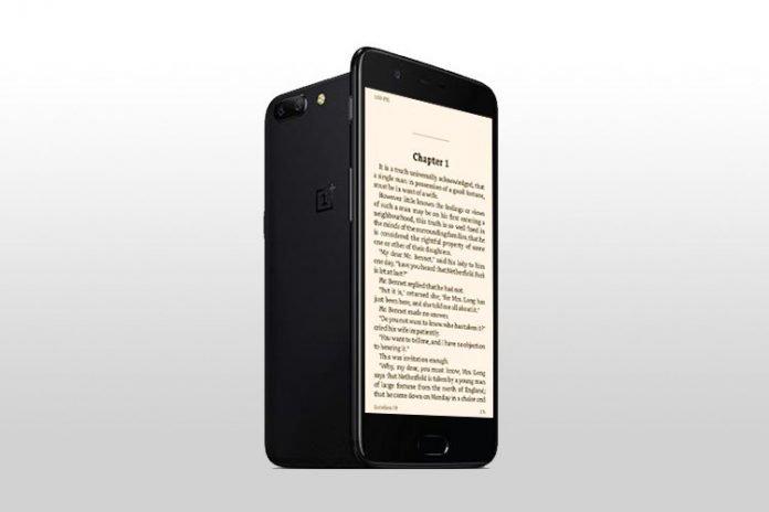 Режим чтения на OnePlus 5/5T
