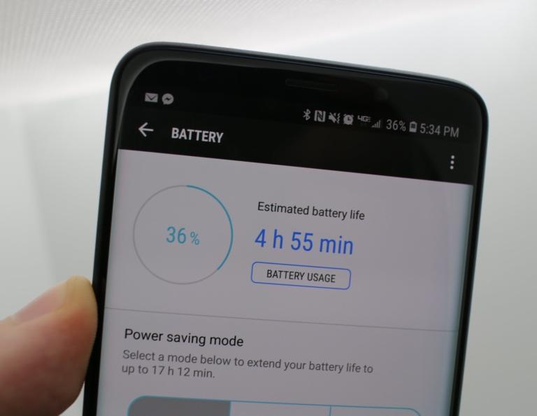 9 советов по увеличению автономности S9 и S9+