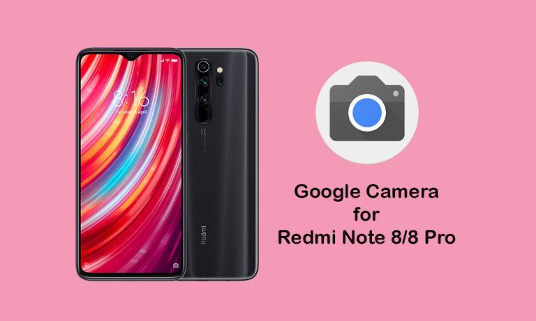 Скачать Google Camera для Redmi Note 8 Pro (GCam 8.1 APK)