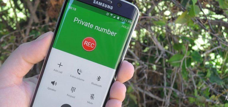Как записывать звонки на телефоны Samsung Galaxy