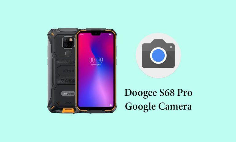 Google Camera для Doogee S68 Pro (GCam 6.1)