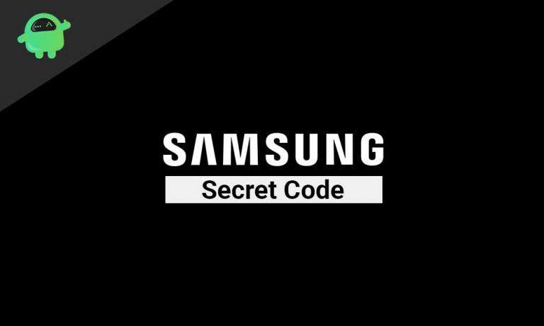 Проверьте Samsung с помощью секретного кода *#0*#