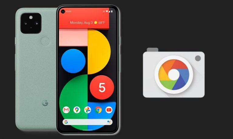 Скачать APK Google Camera 8.0 с Pixel 5