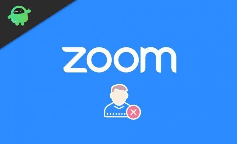 Как удалить изображение профиля Zoom на смартфоне или ПК