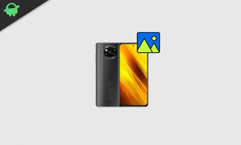Скачать обои Xiaomi POCO X3 в высоком разрешении