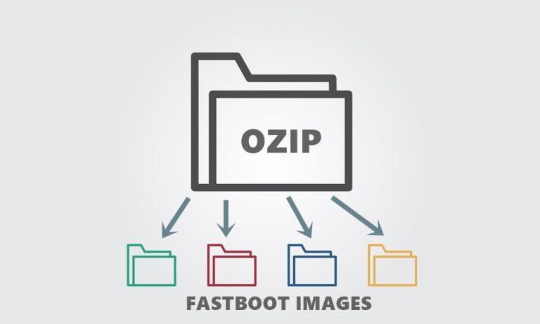 Как извлечь изображения Fastboot из файла .ozip