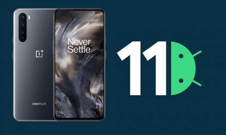 Обновление OnePlus Nord Android 11 (открытая бета-версия OxygenOS 11 2)