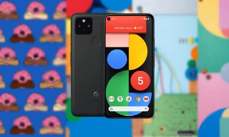 Загрузите последние живые обои Google Pixel 5