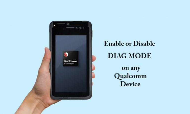 Как включить или отключить режим диагностики на устройстве Qualcomm с помощью ADB [работает на Vivo, Xiaomi, Oppo и других]