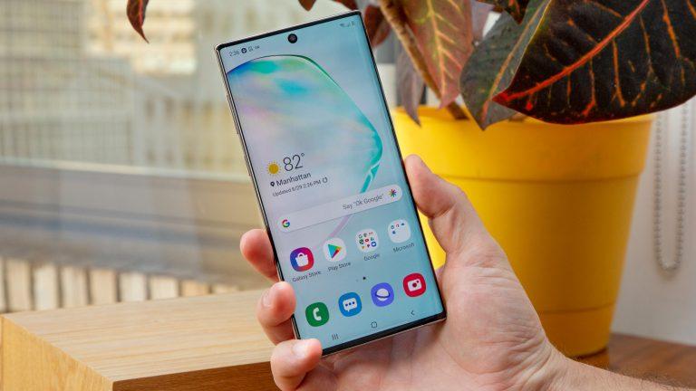 Как использовать TalkBack на Samsung Galaxy Note 10 или Note 10 Plus