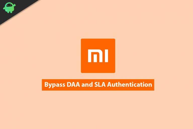 Отключить или обойти аутентификацию DAA и SLA на Xiaomi, Poco или Redmi