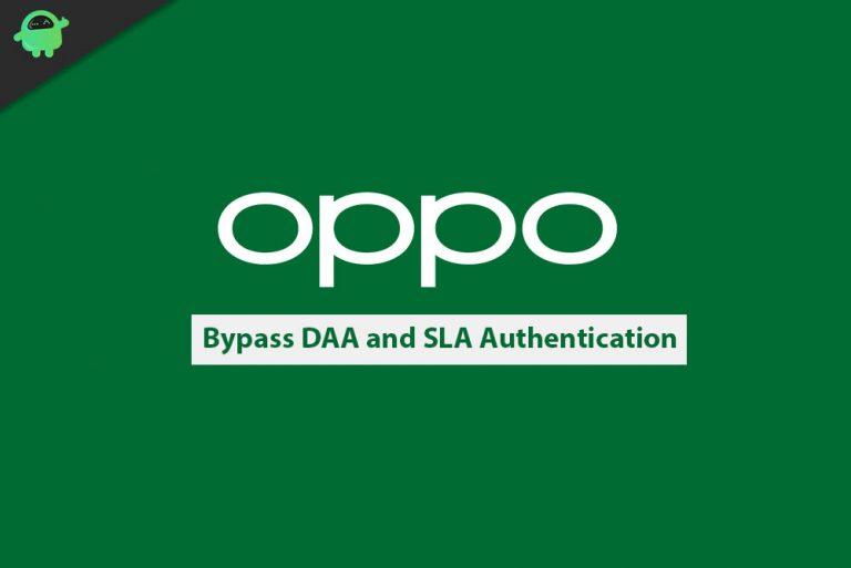 Как отключить или обойти аутентификацию DAA и SLA на телефонах Oppo