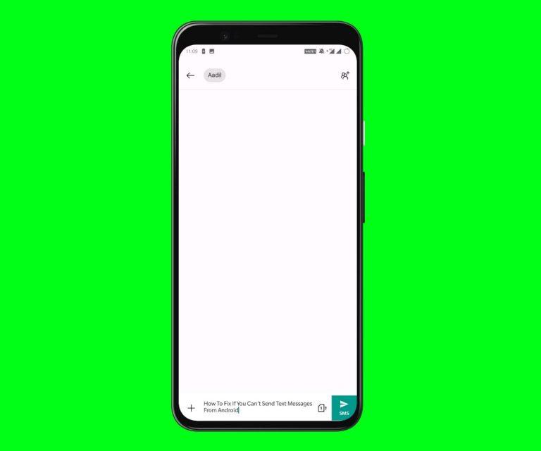 Как исправить, если вы не можете отправлять текстовые сообщения с Android