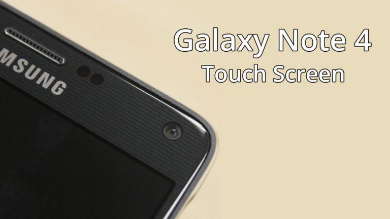 Как исправить неработающий сенсорный экран Galaxy Note 4 (низкая чувствительность)