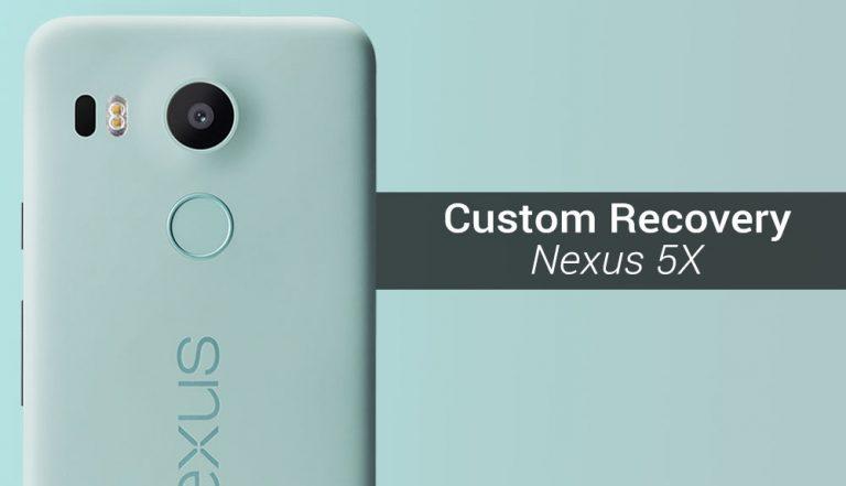 Как установить кастомное рекавери на Nexus 5X (TWRP)