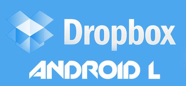 Как исправить и заставить Dropbox работать на Android L