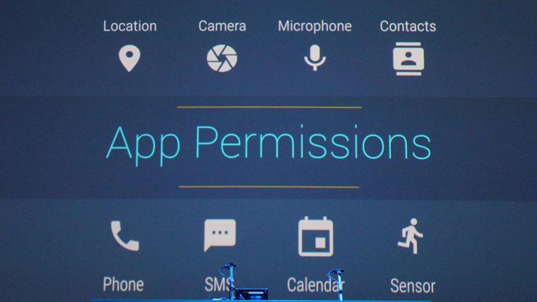 Как изменить разрешения для приложения Android M (отключить доступ)