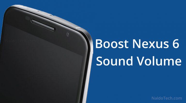 Как увеличить и увеличить громкость динамика и наушников на Nexus 6