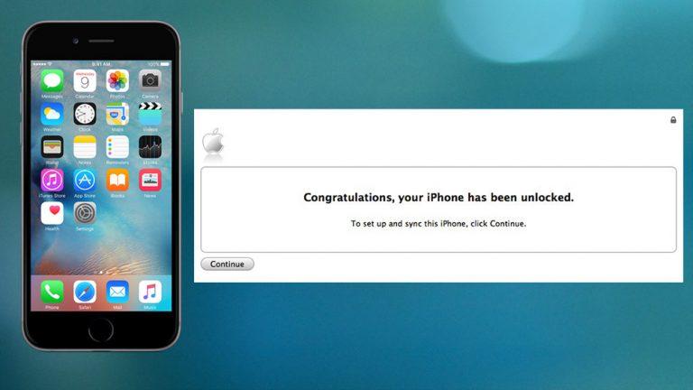 Как разблокировать iPhone 6s и 6s Plus бесплатно