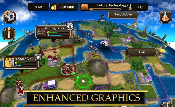 Скачать Civilization Revolution 2 APK на Android