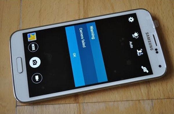 Как исправить ошибку камеры Galaxy S5 Предупреждение проблема