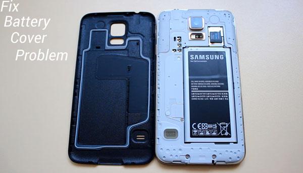 Как исправить проблему со скрипом задней крышки аккумулятора Galaxy S5
