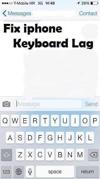 Как сделать клавиатуру iPhone 5S и 5 быстрее (убрать задержку)