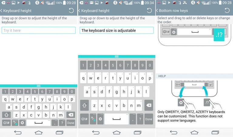 Как исправить отставание клавиатуры на LG G3
