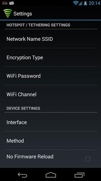 Как исправить неработающую точку доступа LG G3 и USB-модем