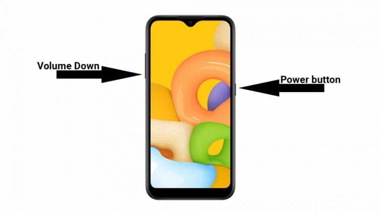Как сделать снимок экрана на Samsung Galaxy A02