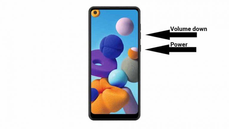 3 способа сделать снимок экрана на Samsung Galaxy A22