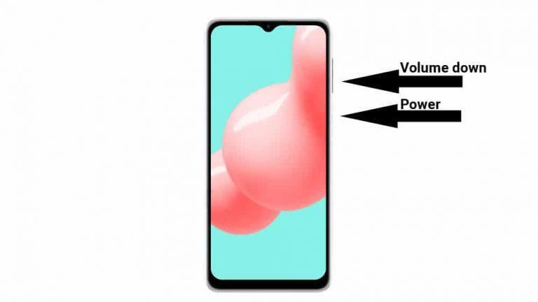 3 способа сделать снимок экрана на Samsung Galaxy A32 5G