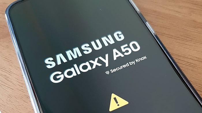 Как исправить зависание Samsung Galaxy A50 в загрузочной петле
