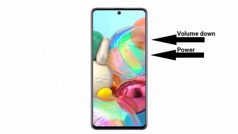 3 способа сделать снимок экрана на Samsung Galaxy A72