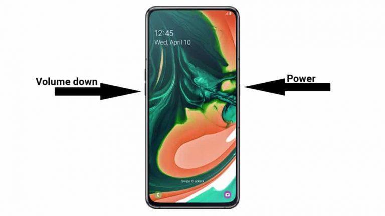 3 способа сделать снимок экрана на Samsung Galaxy A82 5G