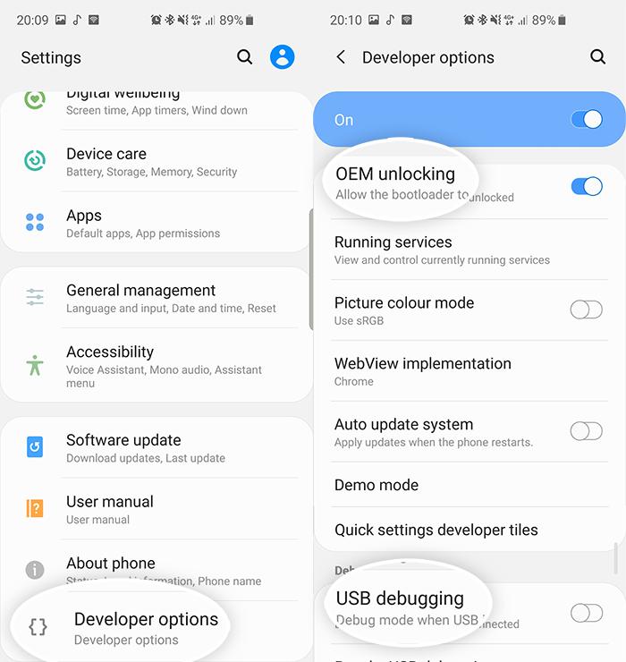 Скачать и прошить стоковую прошивку на Samsung Galaxy A82 5G