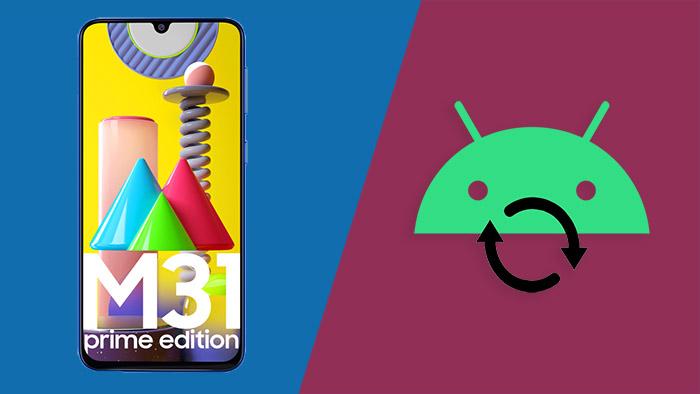 Как войти / загрузить режим восстановления на Samsung Galaxy M31 Prime
