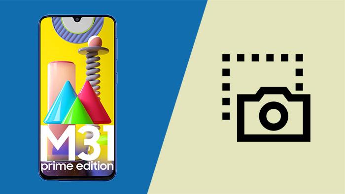 Как сделать снимок экрана / снимок экрана на Galaxy M31 Prime