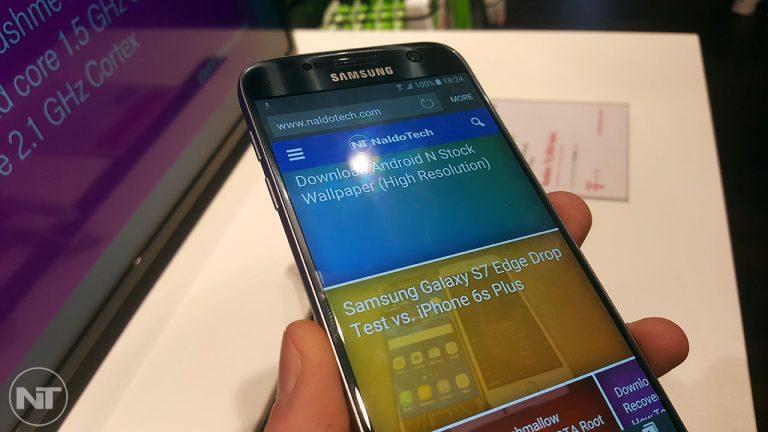Как загрузить Galaxy S7 в режиме восстановления [Stock & Custom]