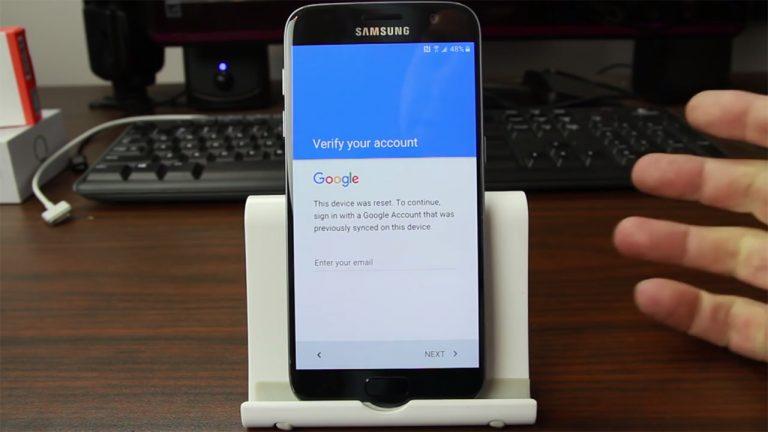 Как обойти защиту от сброса настроек Galaxy S7 и добавить еще одну учетную запись Google