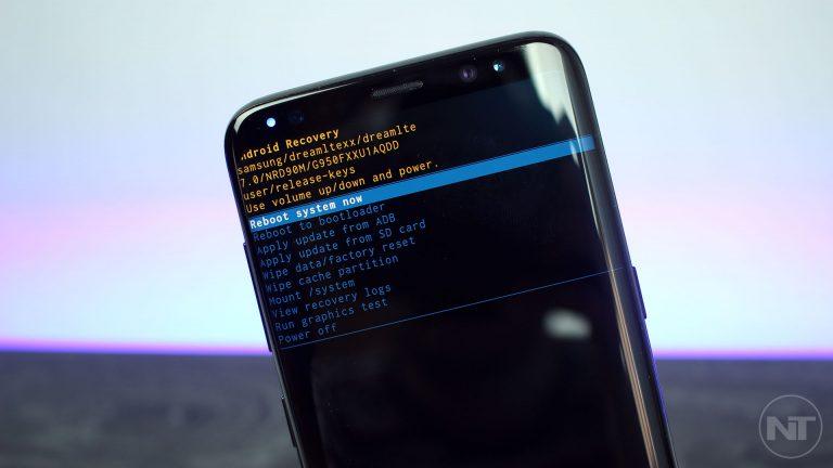 Как войти в режим восстановления на Samsung Galaxy S8 и S8 + [Stock & Custom]