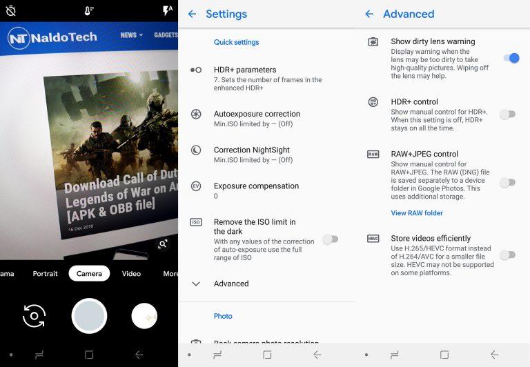 Как установить APK-файл Google Camera 6.1 с ночным прицелом на телефоны Samsung [Snapdragon & Exynos]
