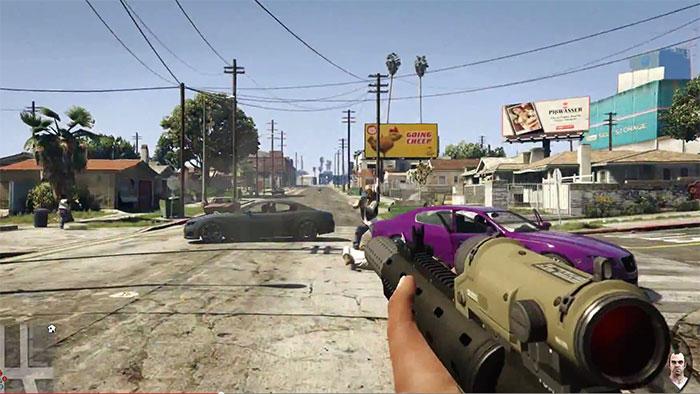 GTA V: удивительный вид от первого лица для ПК, PS4 и Xbox One, видеотрейлер