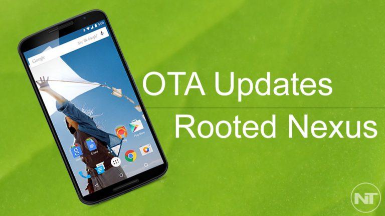 Как загрузить и установить обновления OTA на Nexus 6 (рутированный)