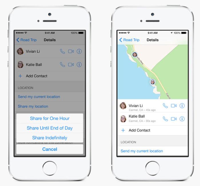 Как включить передачу данных о местоположении на iOS 8 (Отправить мое текущее местоположение)