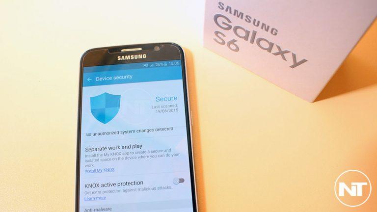Полностью удалить программное обеспечение KNOX из Galaxy S6