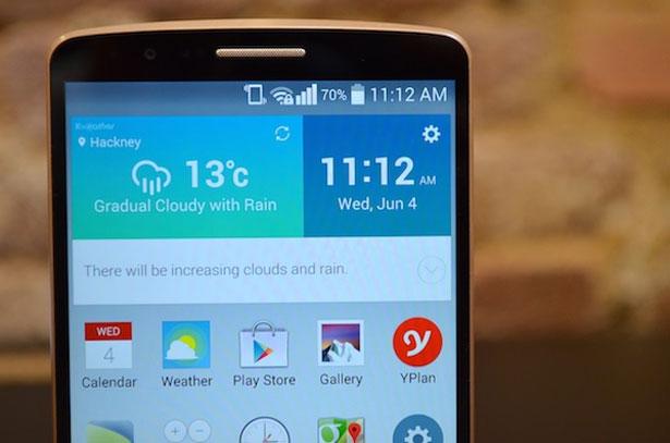 Как исправить проблему сенсорной чувствительности экрана LG G3