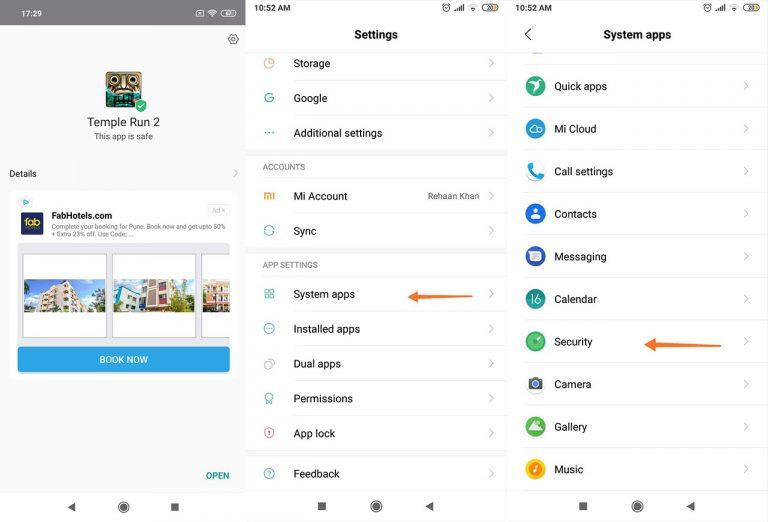 Как отключить надоедливую рекламу на телефонах Xiaomi [MIUI 10]