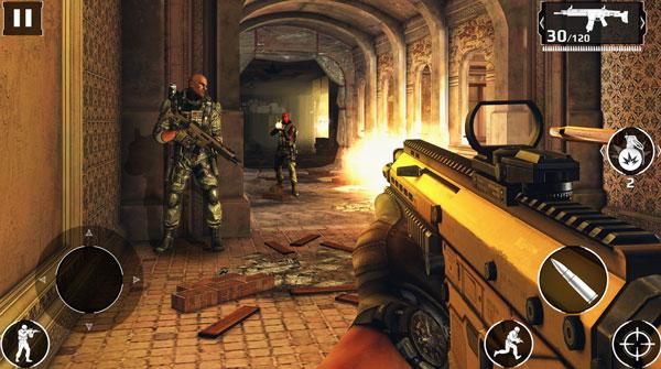 Загрузите и установите Modern Combat 5 для Android и iOS, лучшую игру FPS для мобильных устройств