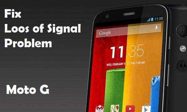 Как исправить проблему потери сигнала на Moto G